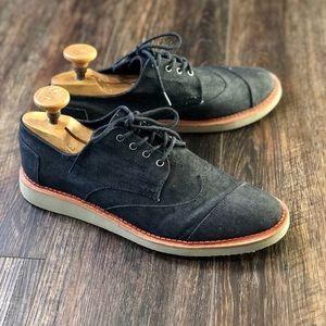 TOMS Men's Brogue Lace-Up Shoes